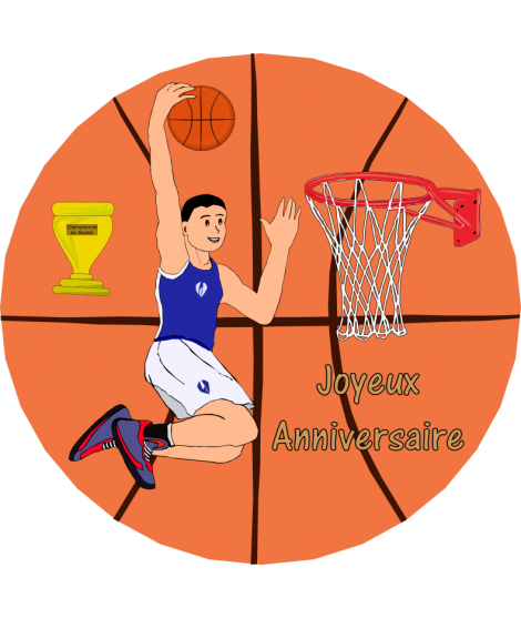 image personnalisée basket