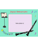 photomontage comestible clarinette