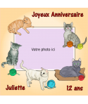 photo comestible chat pour gâteau