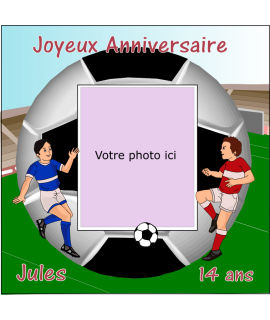 photo comestible football