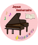 feuille comestible piano