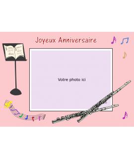 impression comestible flute