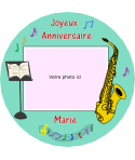 impression alimentaire saxophone