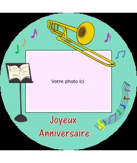 disque comestible trombone