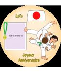 décoration comestible judo