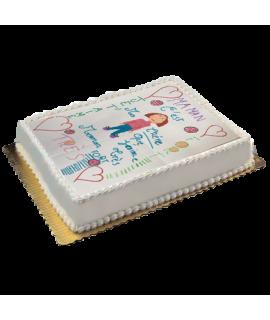 impression dessin sur gâteau