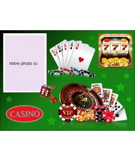 décoration comestible casino