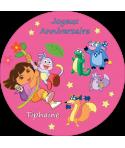 gâteau anniversaire personnalisé Dora