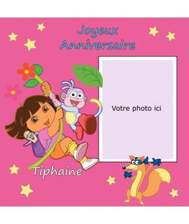 photomontage comestible Dora