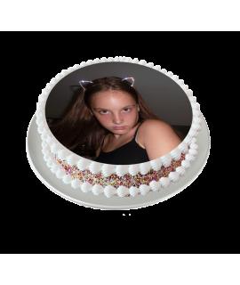 photo sur gâteau
