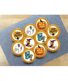 Sablé décoré halloween