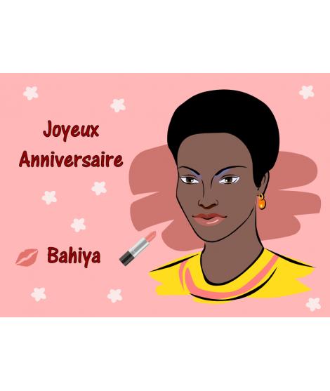 Femme noire fête de la femme