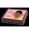 Gâteau décoré femme black