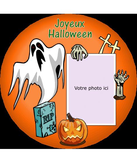 photomontage halloween