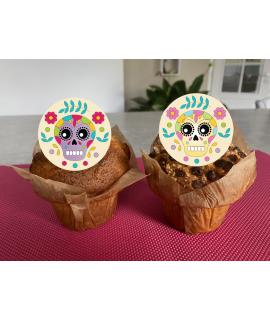 Cupcakes Calavera