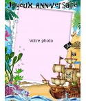 Photo pirate pour gateau