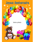 Photo pour gateau anniversaire enfant