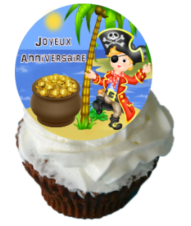 Cupcake pirate