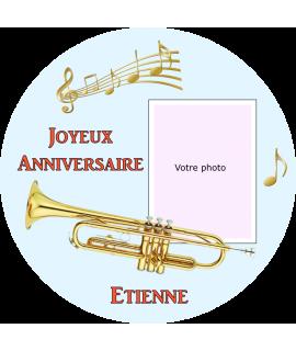 photo comestible trompette